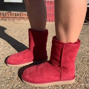 Red UGG Boots